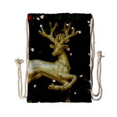 December Christmas Cologne Drawstring Bag (small)