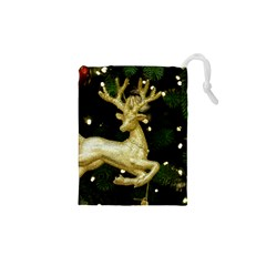 December Christmas Cologne Drawstring Pouches (xs)