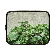 Plants Against Concrete Wall Background Netbook Case (Small)