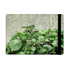 Plants Against Concrete Wall Background Apple iPad Mini Flip Case