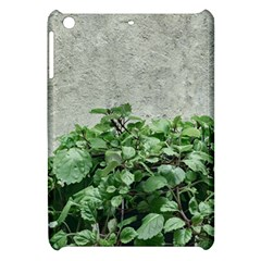 Plants Against Concrete Wall Background Apple iPad Mini Hardshell Case