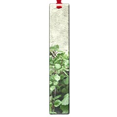 Plants Against Concrete Wall Background Large Book Marks