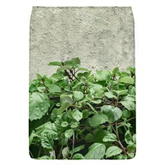 Plants Against Concrete Wall Background Flap Covers (S)
