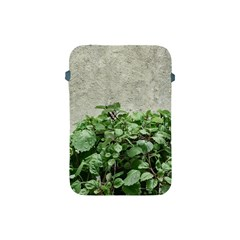 Plants Against Concrete Wall Background Apple iPad Mini Protective Soft Cases