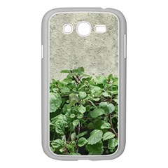 Plants Against Concrete Wall Background Samsung Galaxy Grand DUOS I9082 Case (White)