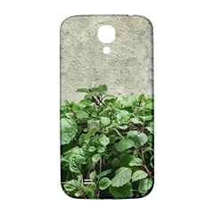 Plants Against Concrete Wall Background Samsung Galaxy S4 I9500/I9505  Hardshell Back Case