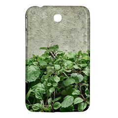 Plants Against Concrete Wall Background Samsung Galaxy Tab 3 (7 ) P3200 Hardshell Case