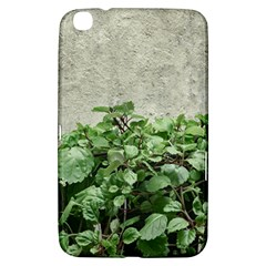 Plants Against Concrete Wall Background Samsung Galaxy Tab 3 (8 ) T3100 Hardshell Case