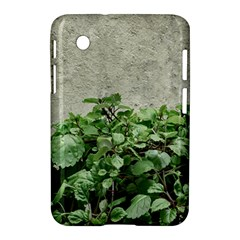 Plants Against Concrete Wall Background Samsung Galaxy Tab 2 (7 ) P3100 Hardshell Case
