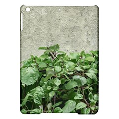 Plants Against Concrete Wall Background iPad Air Hardshell Cases
