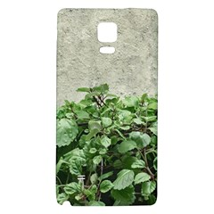 Plants Against Concrete Wall Background Galaxy Note 4 Back Case