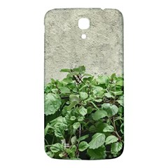 Plants Against Concrete Wall Background Samsung Galaxy Mega I9200 Hardshell Back Case