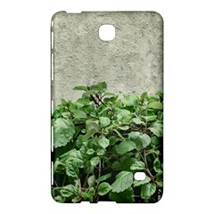 Plants Against Concrete Wall Background Samsung Galaxy Tab 4 (7 ) Hardshell Case