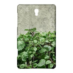 Plants Against Concrete Wall Background Samsung Galaxy Tab S (8.4 ) Hardshell Case