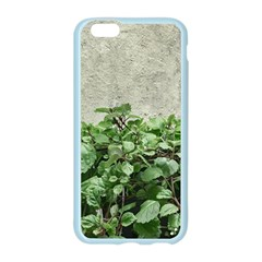 Plants Against Concrete Wall Background Apple Seamless iPhone 6/6S Case (Color)