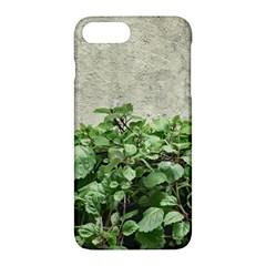 Plants Against Concrete Wall Background Apple iPhone 7 Plus Hardshell Case
