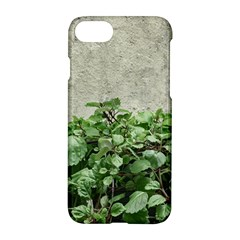Plants Against Concrete Wall Background Apple Iphone 7 Hardshell Case