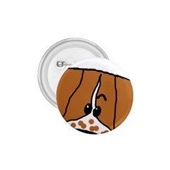 Peeping Brittany Spaniel 1.75  Buttons
