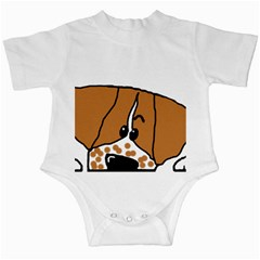 Peeping Brittany Spaniel Infant Creepers