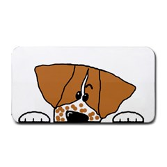Peeping Brittany Spaniel Medium Bar Mats