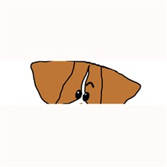 Peeping Brittany Spaniel Large Bar Mats