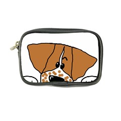 Peeping Brittany Spaniel Coin Purse