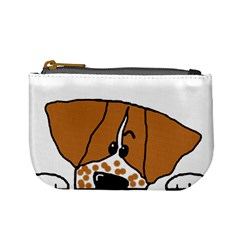 Peeping Brittany Spaniel Mini Coin Purses