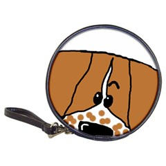 Peeping Brittany Spaniel Classic 20-CD Wallets