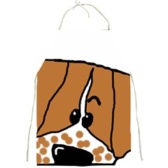 Peeping Brittany Spaniel Full Print Aprons