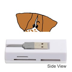 Peeping Brittany Spaniel Memory Card Reader (Stick)