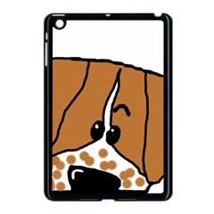 Peeping Brittany Spaniel Apple iPad Mini Case (Black)