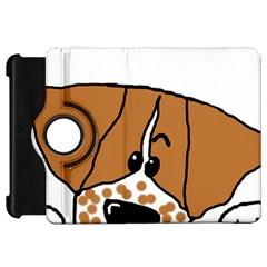 Peeping Brittany Spaniel Kindle Fire HD 7