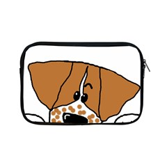 Peeping Brittany Spaniel Apple iPad Mini Zipper Cases