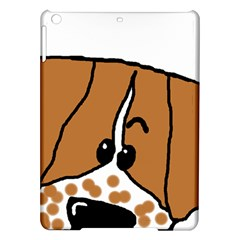 Peeping Brittany Spaniel iPad Air Hardshell Cases