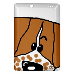Peeping Brittany Spaniel Amazon Kindle Fire HD (2013) Hardshell Case