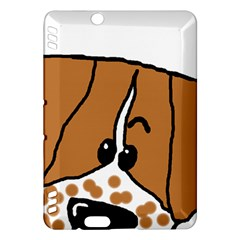 Peeping Brittany Spaniel Kindle Fire HDX Hardshell Case