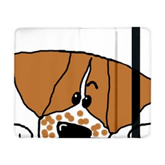 Peeping Brittany Spaniel Samsung Galaxy Tab Pro 8.4  Flip Case