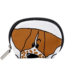 Peeping Brittany Spaniel Accessory Pouches (Small)