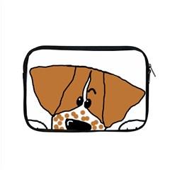 Peeping Brittany Spaniel Apple MacBook Pro 15  Zipper Case