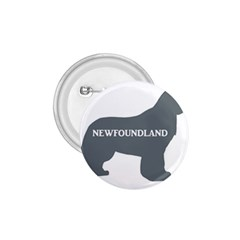 Newfie Name Silo Grey 1.75  Buttons