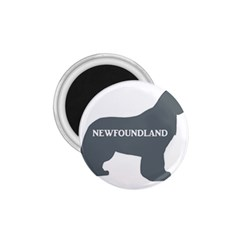 Newfie Name Silo Grey 1.75  Magnets