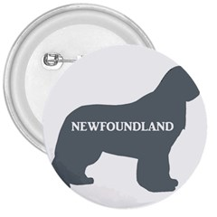Newfie Name Silo Grey 3  Buttons