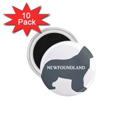 Newfie Name Silo Grey 1.75  Magnets (10 pack)