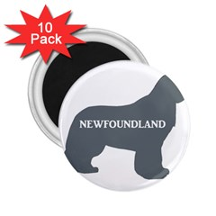 Newfie Name Silo Grey 2.25  Magnets (10 pack)