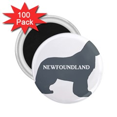 Newfie Name Silo Grey 2.25  Magnets (100 pack)