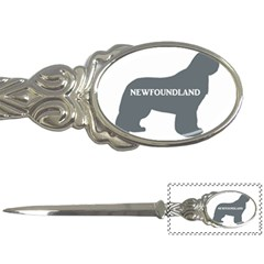 Newfie Name Silo Grey Letter Openers