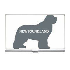 Newfie Name Silo Grey Business Card Holders