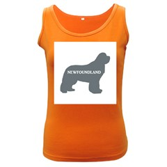 Newfie Name Silo Grey Women s Dark Tank Top