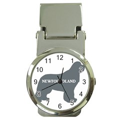 Newfie Name Silo Grey Money Clip Watches