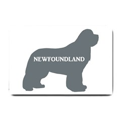Newfie Name Silo Grey Small Doormat